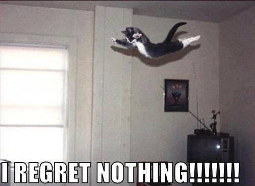 I Regret Nothing!!!