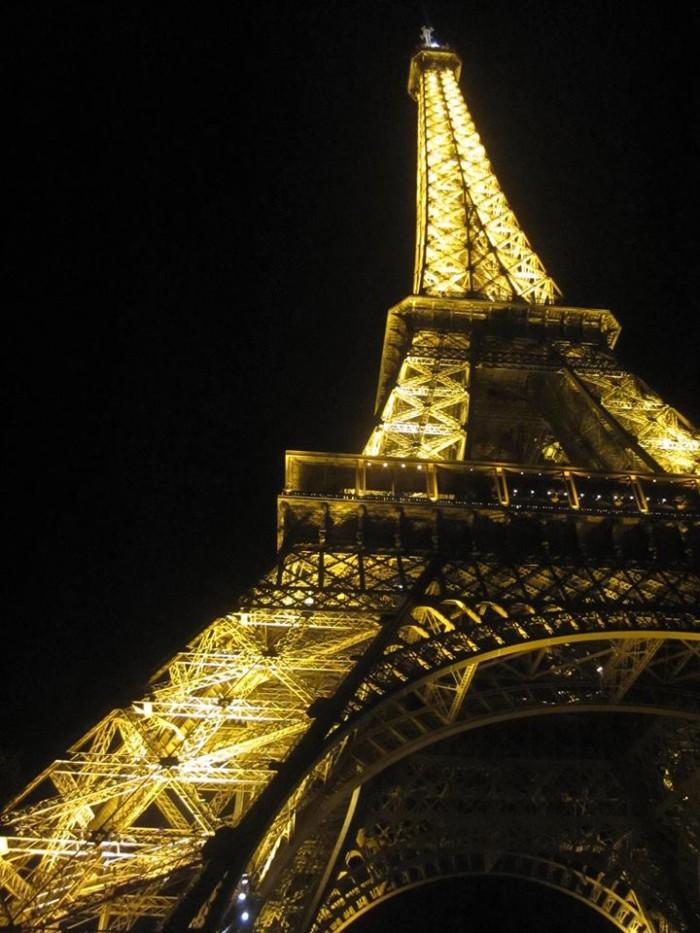 Eiffel Tower At Night:Bunni