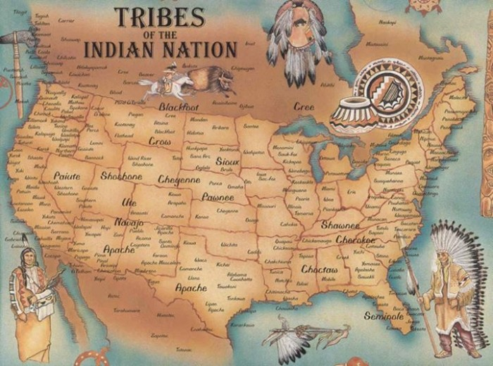 Tribes of Native Americans