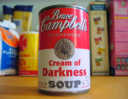 Bruce Campbells Cream of Darkness Soup1
