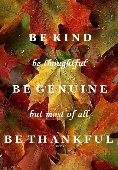Be Thankful1