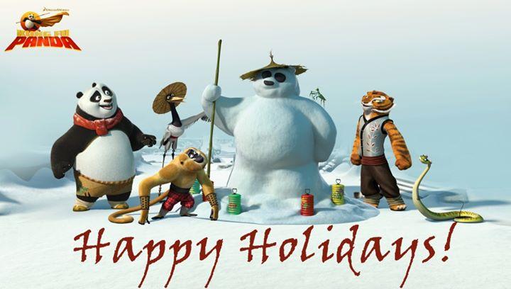 Kung Fu Panda Happy Holidays1