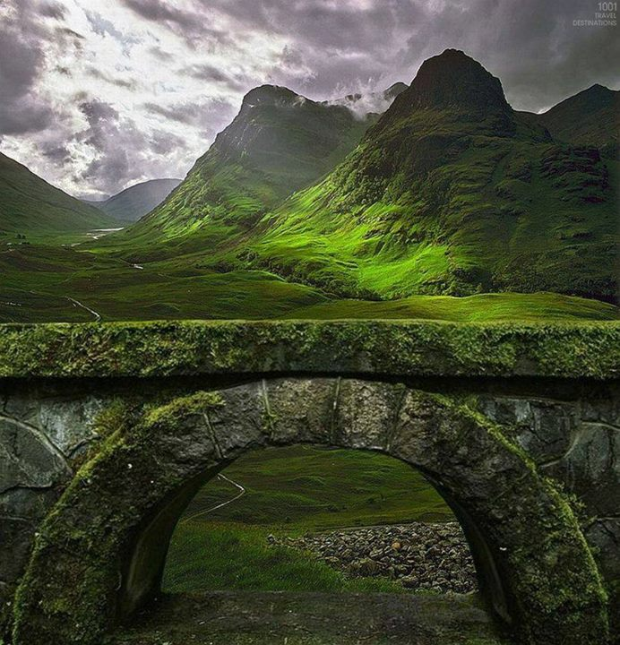 Ancient Arch in Scotland