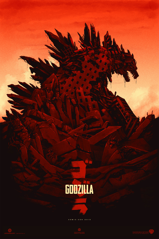 This entry was posted in Pics   Bookmark the permalink  Godzilla 2014 Poster Comic Con