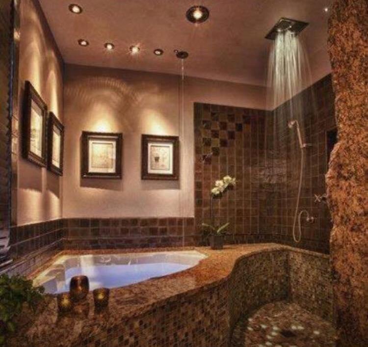 Beautiful Bath And Shower El Grande Pics