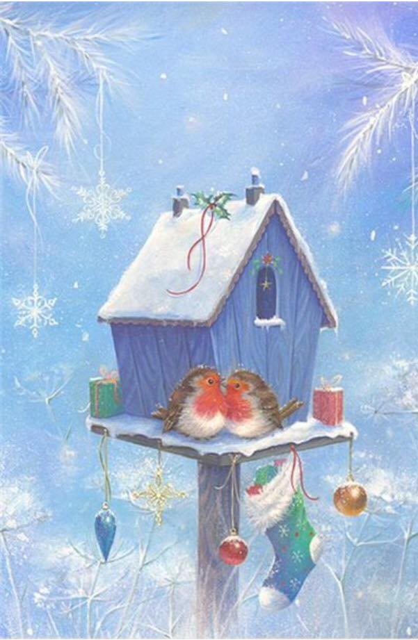 Christmas Birdies 4