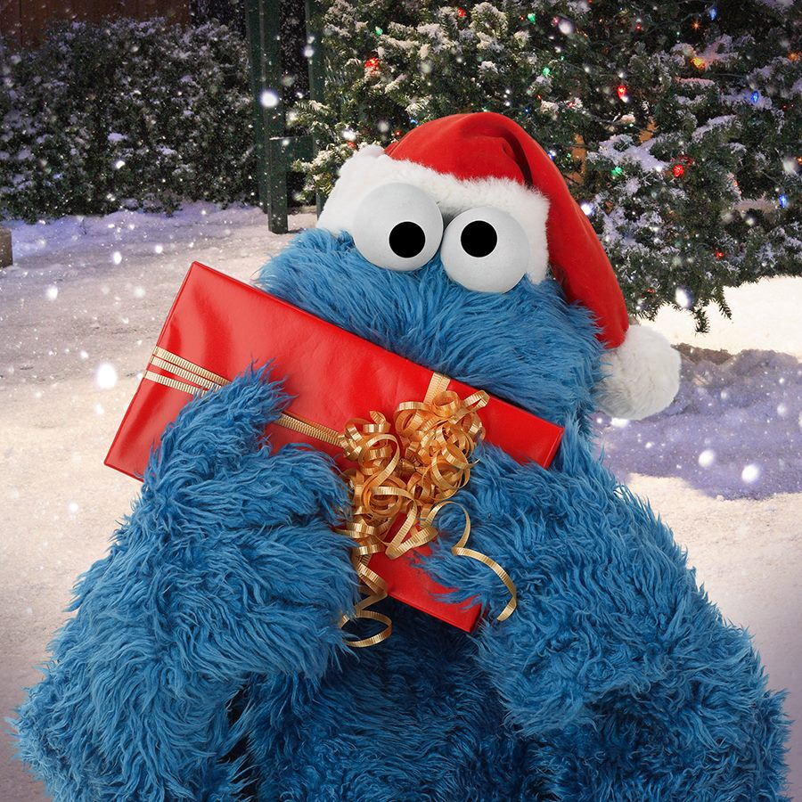 Cookie Monster Christmas2