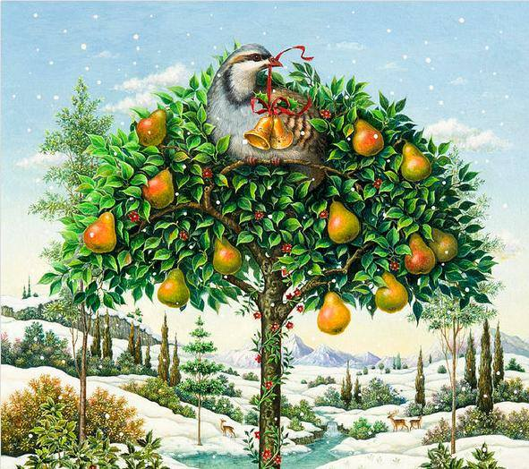 Partridge In A Pear Tree1