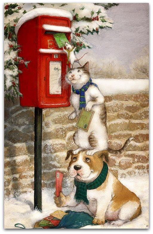 Sending A Christmas Card1