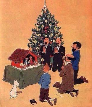 Tintin Christmas1